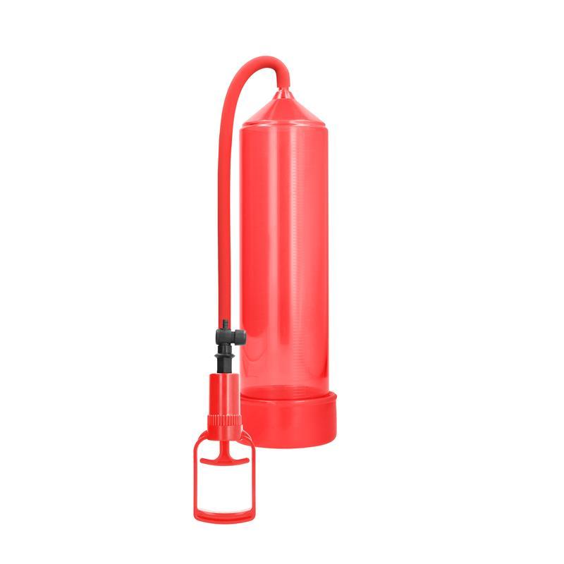 Shots Pumped Succionador de Pene para Principiantes Comfort Color Rojo de PUMPED #satisfactoys