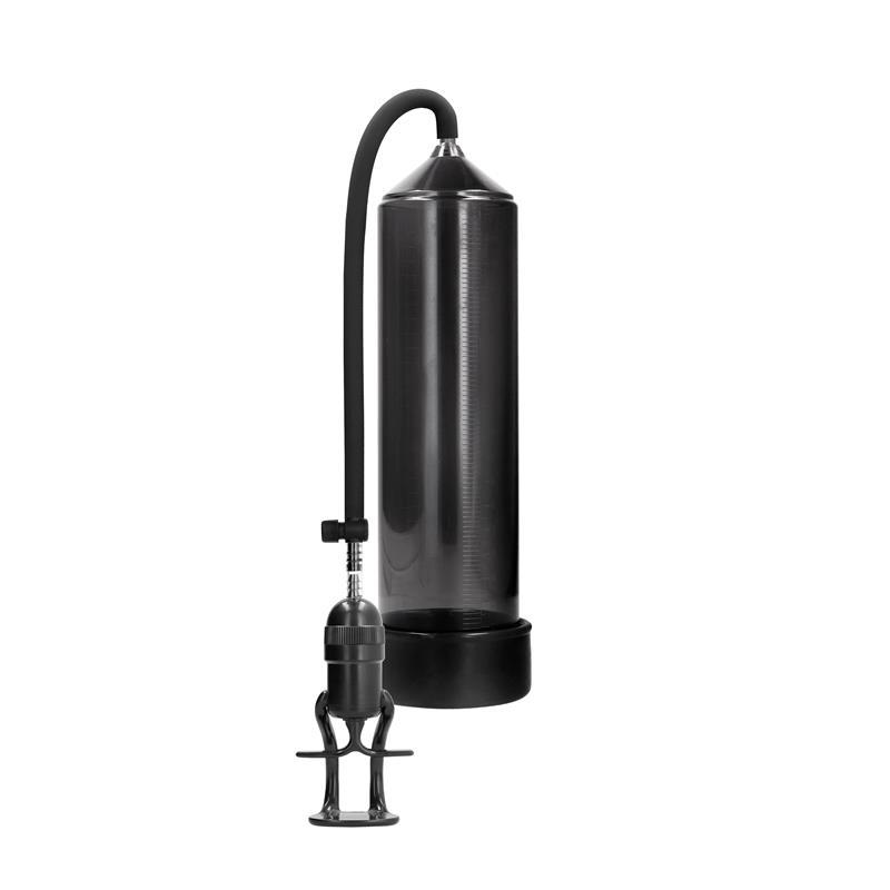 Shots Pumped Succionador de Pene para Principiantes Deluxe Color Negro de PUMPED #satisfactoys