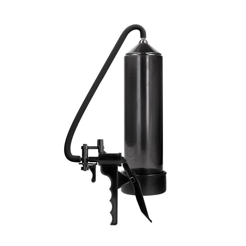 Shots Pumped Succionador de Pene para Principiantes Elite Color Negro de PUMPED #satisfactoys