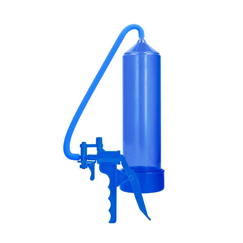 Shots Pumped Succionador de Pene para Principiantes Color Azul de PUMPED #satisfactoys