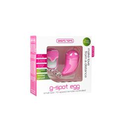Vibrating G-spot Egg - Small - Pink