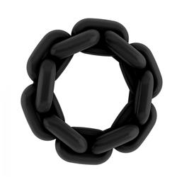 No.6 - Chain Cockring - Black