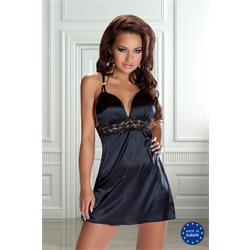 BRITTANY CHEMISE black S/M - Avanua