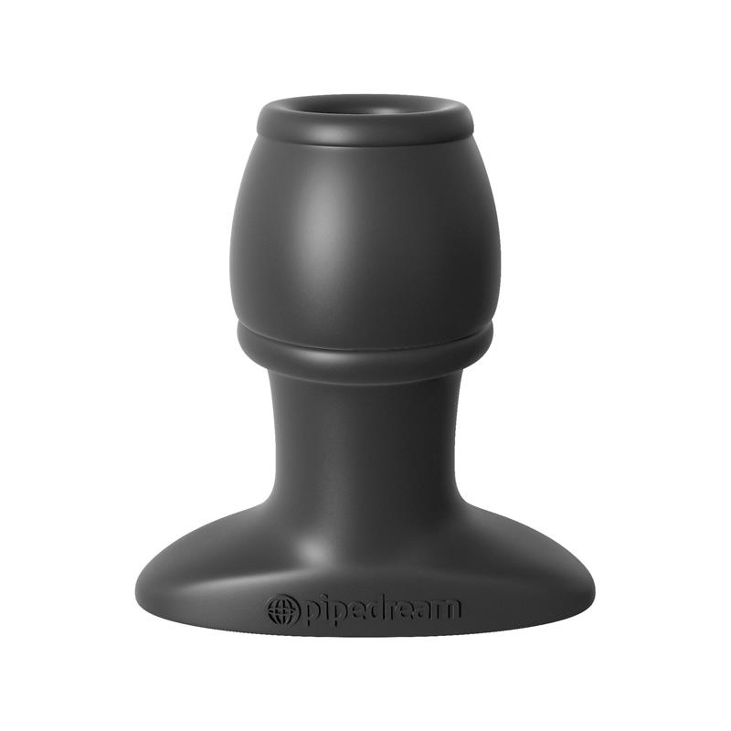 Anal Fantasy Collection Open Wide Tunnel Plug - Colour Black