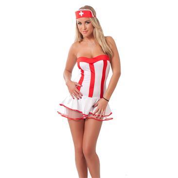 Nurse Outfit, 3 pcs.-OS