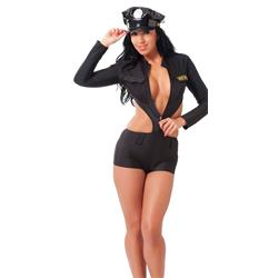 Police Uniform with Hat-OS