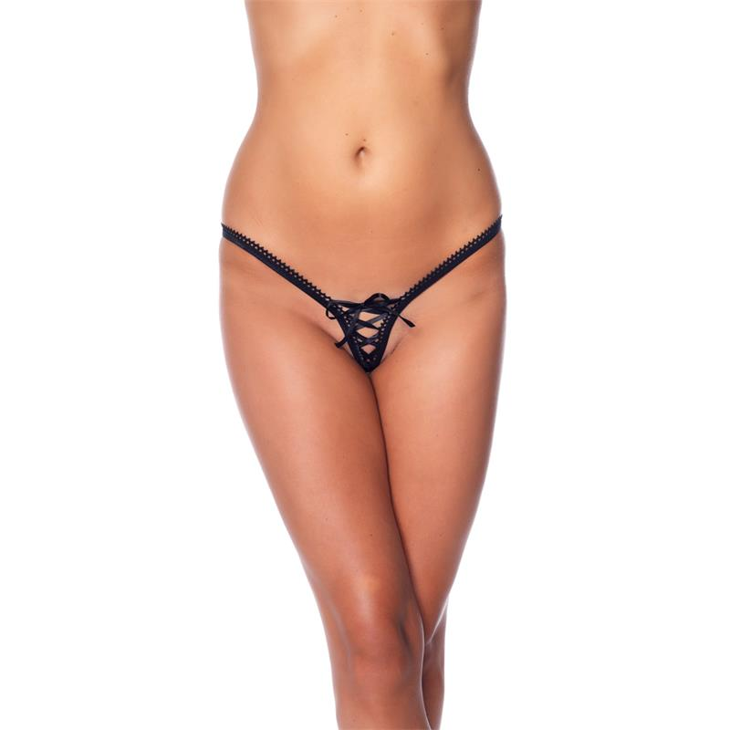 Rimba Amorable G-String Black One Size