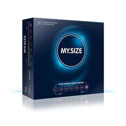 MY SIZE 69 - Natural latex condom, transparent, lu
