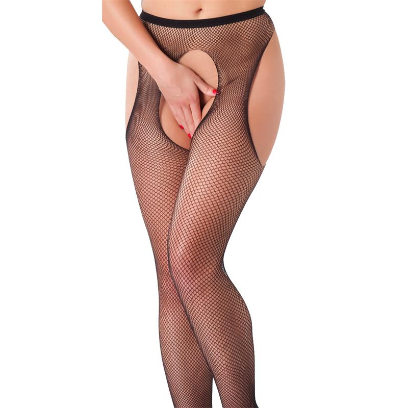 Rimba Amorable Suspender Tights Black One Size