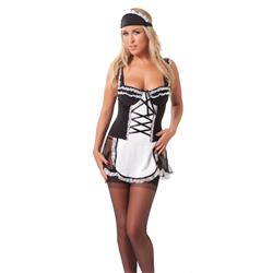 Maids Outfit + Stockings-ML