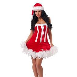 Christmas Dress + Hat-OS