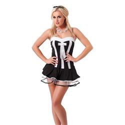 Waitress Outfit, 3 pcs.-OS