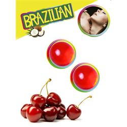 Secret Play Set 2 Brazilian Balls Aroma Cereza