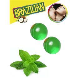 SET 2 BRAZILIAN BALLS AROMA MENTA