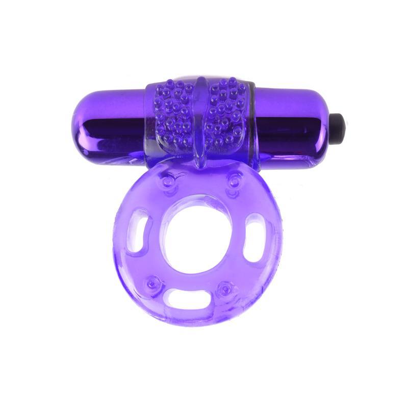 Fantasy C-Ringz Vibrating Super Ring Purple