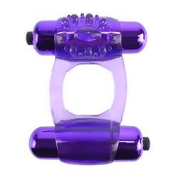 Fantasy C-Ringz  Duo-Vibrating Super Ring-Purple