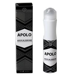 PERFUME EN ACEITE APOLO, 20 ML.