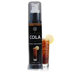 LUBRICANTE EFECTO CALOR COLA, 50 ML.