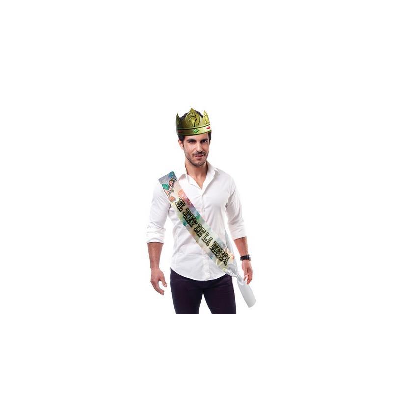 Femarvi Banda El Rey de la Fiesta y Corona Dorado de FEMARVI #satisfactoys