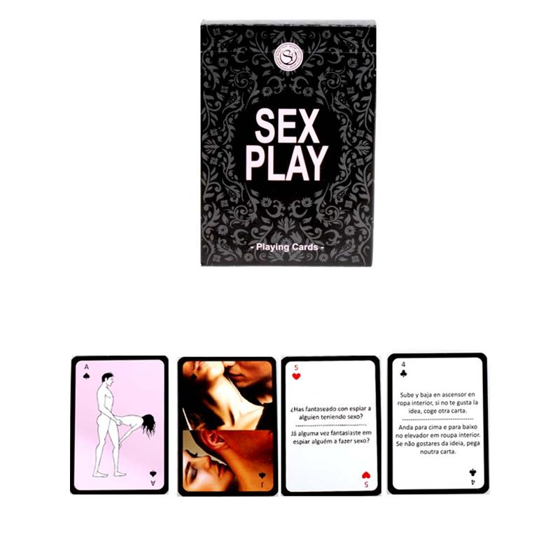 Secret Play Game Sex Play Playing Cards