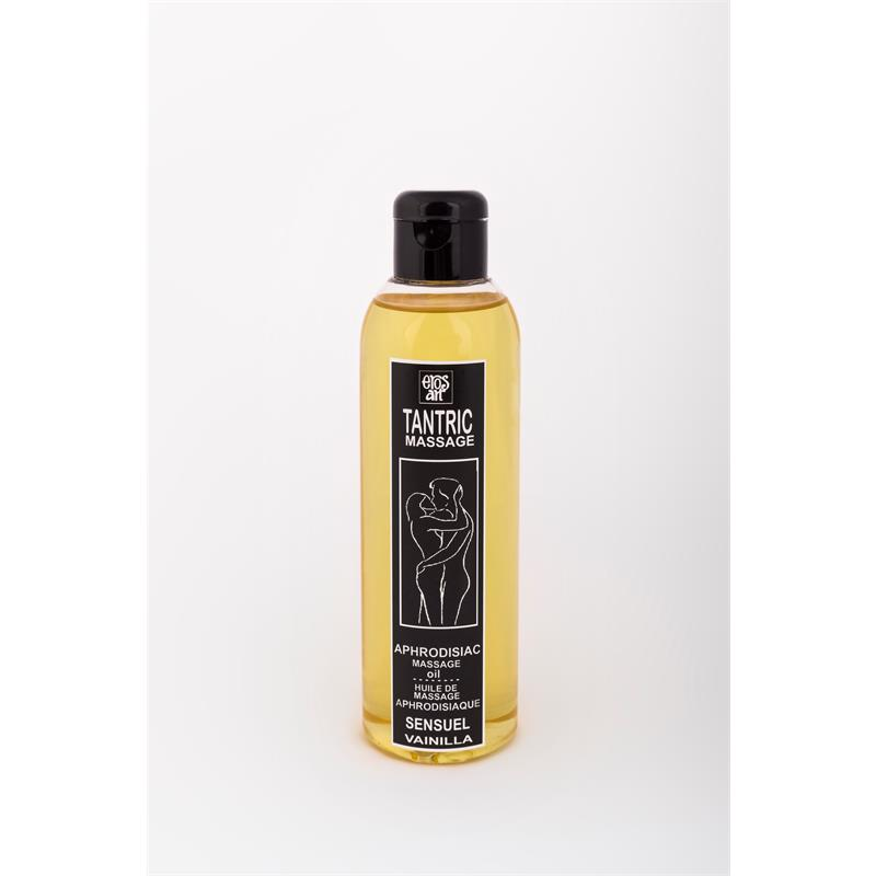 Erosart Aceite Afrodisíaco Tantric de Vainilla 100 ml de EROSART #satisfactoys