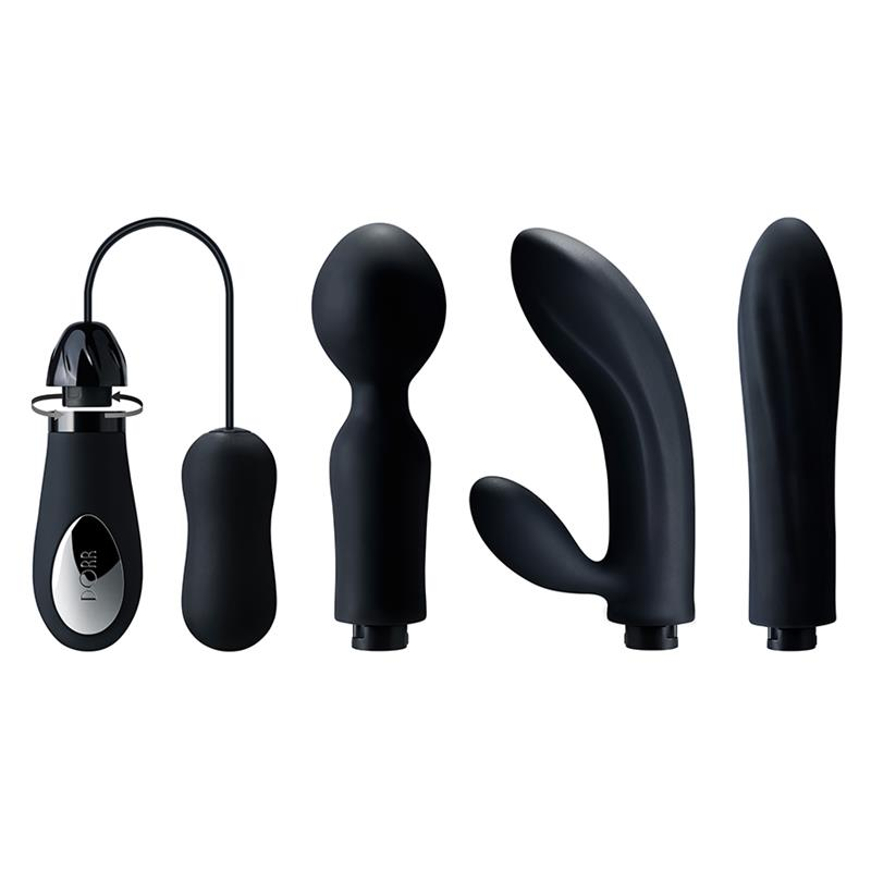 Mystic - 4 Exchangeable heads Vibrator