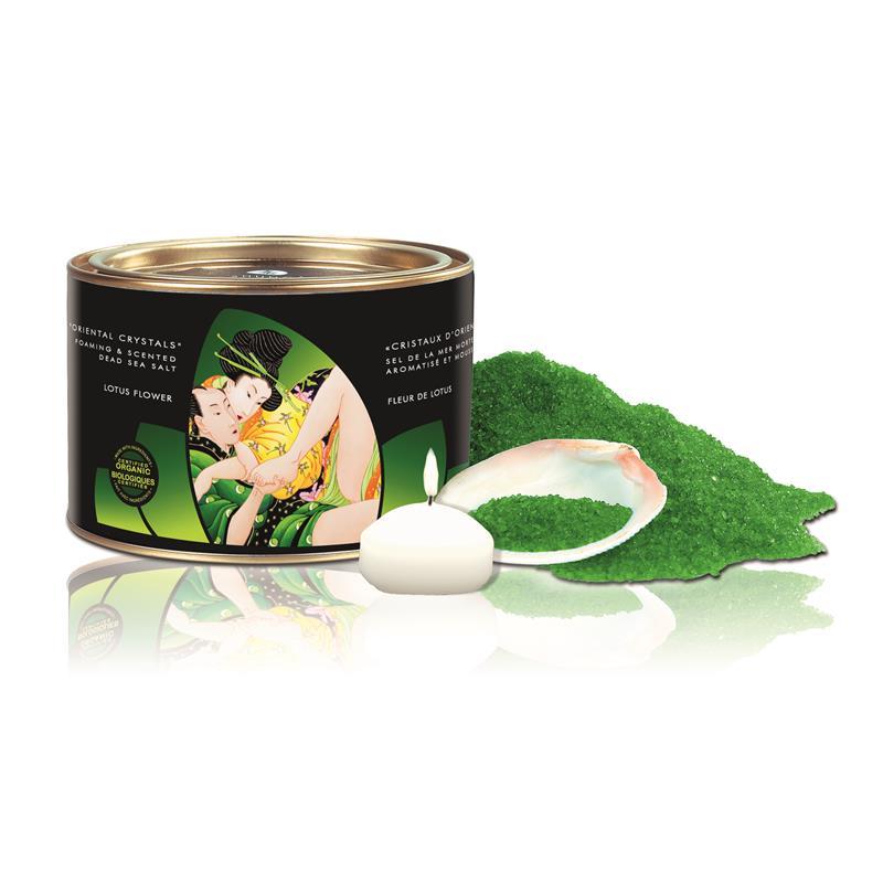 Shunga Bath Salts Lotus Flower Aroma