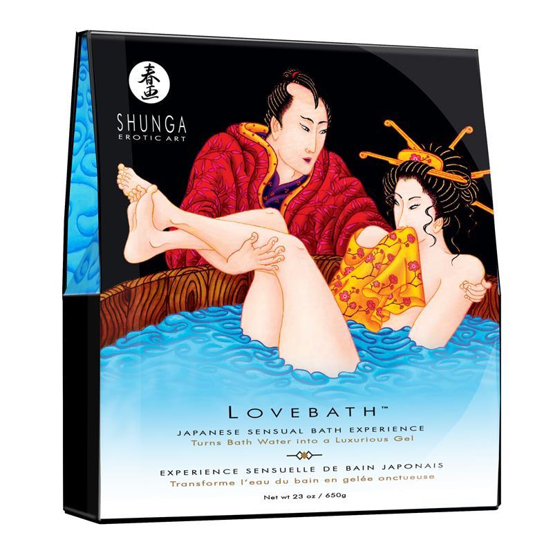 Shunga Bath Salts Ocean Tentations