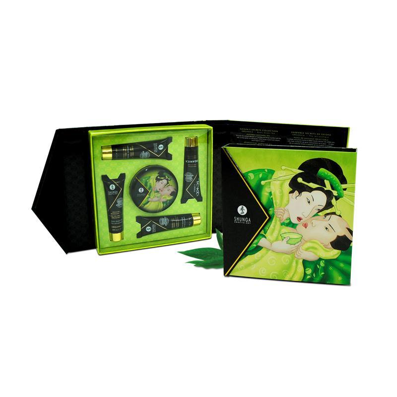 Shunga Kit Secretos de una Geisha Té Verde (3)