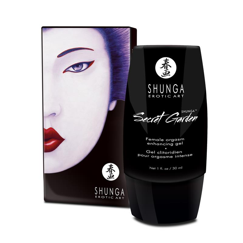 Shunga Jardin Secreto Crema Ogásmica Mujer de SHUNGA #satisfactoys