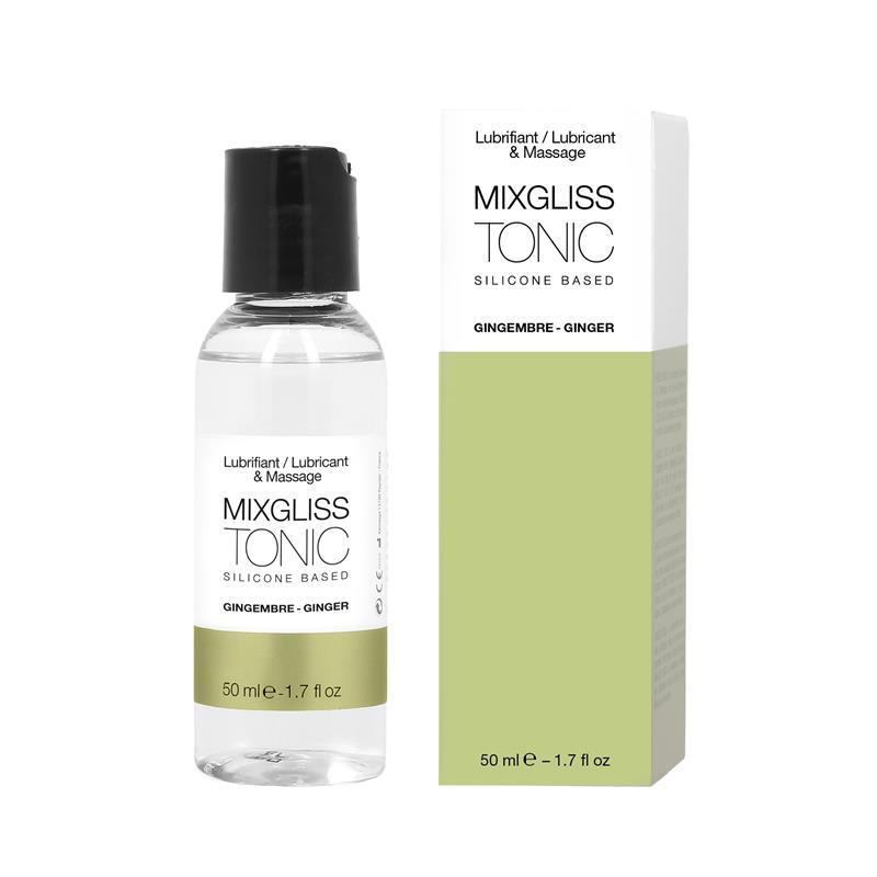 Mixgliss Lubricante Silicona Jengibre 50 ml de MIXGLISS #satisfactoys