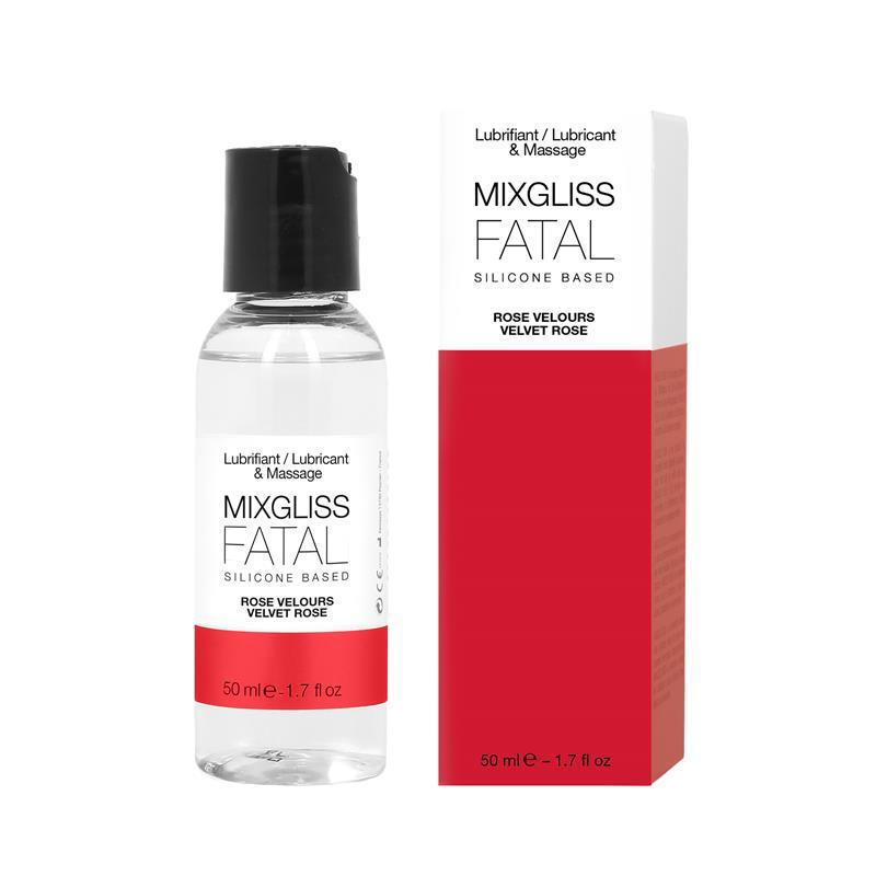 Mixgliss Lubricante Silicona Aroma Rosa de MIXGLISS #satisfactoys