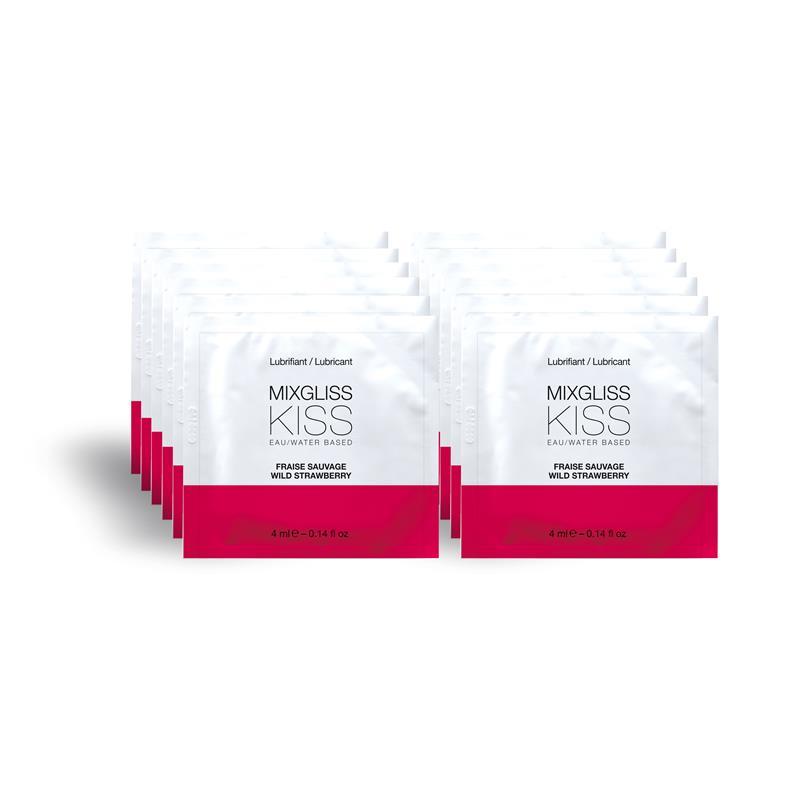 Mixgliss Monodosis Water Base Lubricant Pack of 12 4 ml