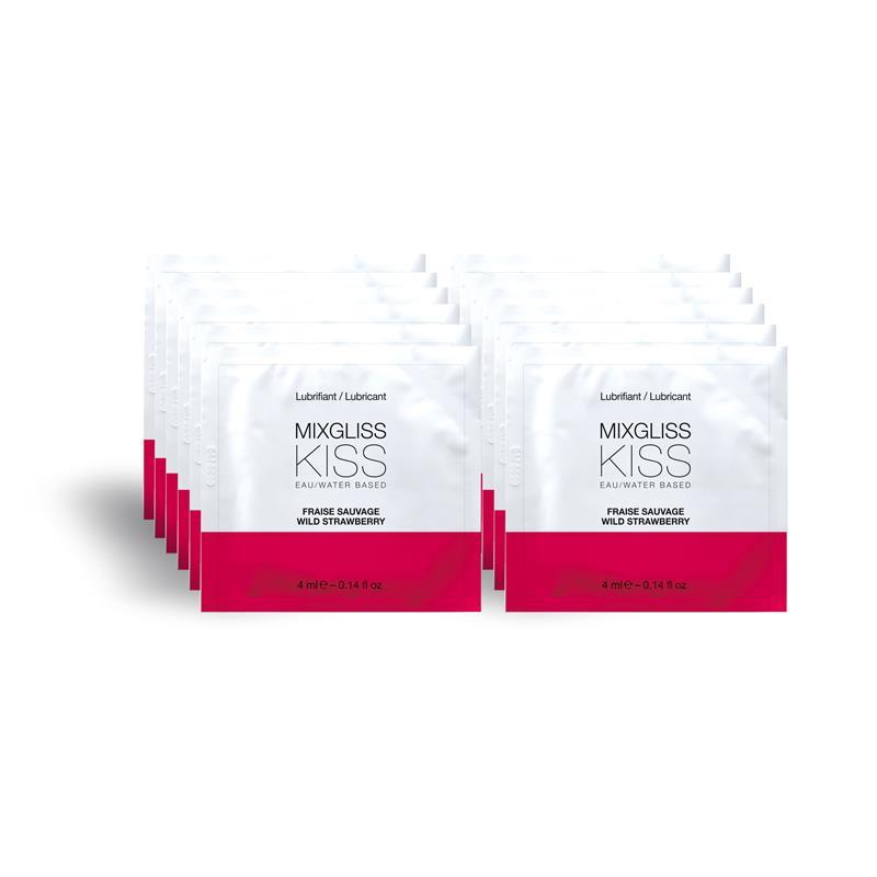 Mixgliss Pack de 12 Monodosis a Base de Agua Fresas Silvestres 4 ml de MIXGLISS #satisfactoys