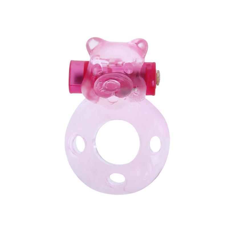 Cock Ring s vibrační Bullet Bear
