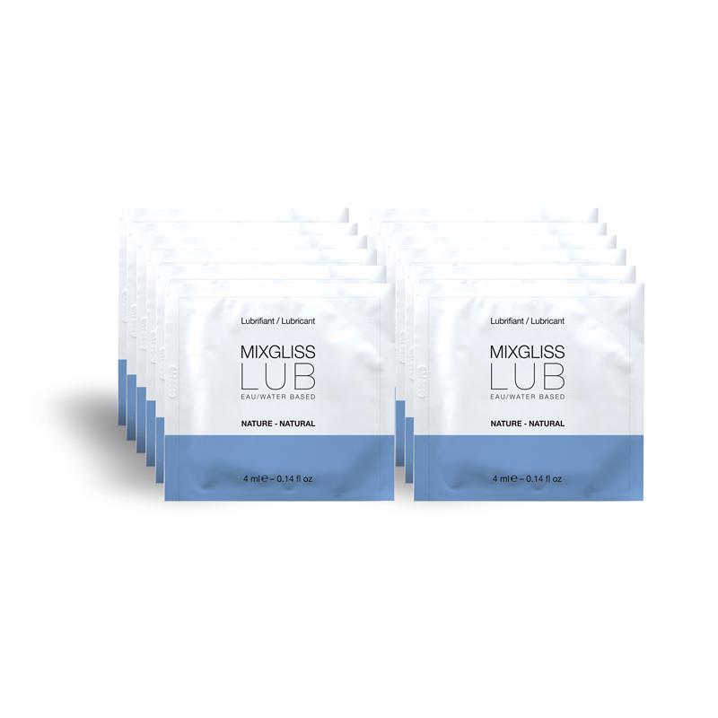 Mixgliss Pack de 12 Monodosis Lubricante Base de Agua LUB de MIXGLISS #satisfactoys