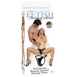 Fetish Fantasy Series 10 Function Remote Control