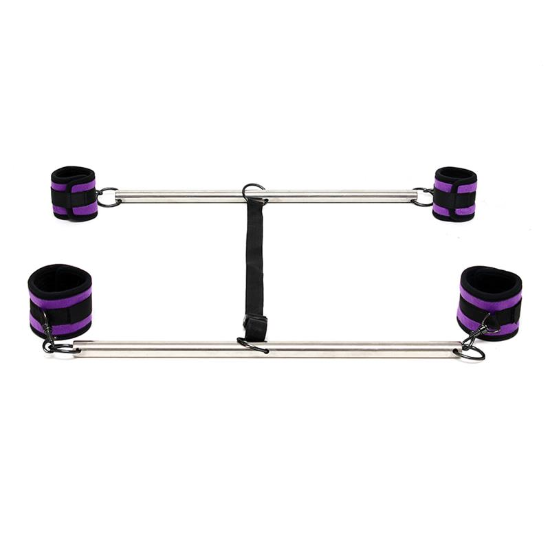 Double Spreader Bar with Suffs Adjustable Purple