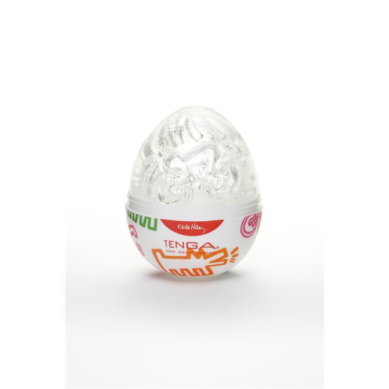 Tenga Masturbator Egg Street Keith Haring