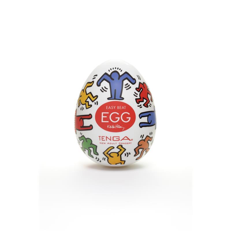 Tenga Masturbator Egg Keith Haring Dance