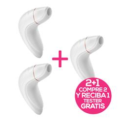 Pack 2 Satisfyer Pro Plus Vibration + 1 Tester Fre