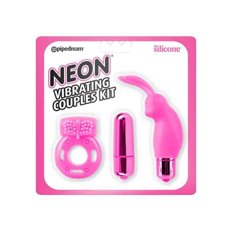 Neon Kit para Parejas Color Rosa de NEON #satisfactoys