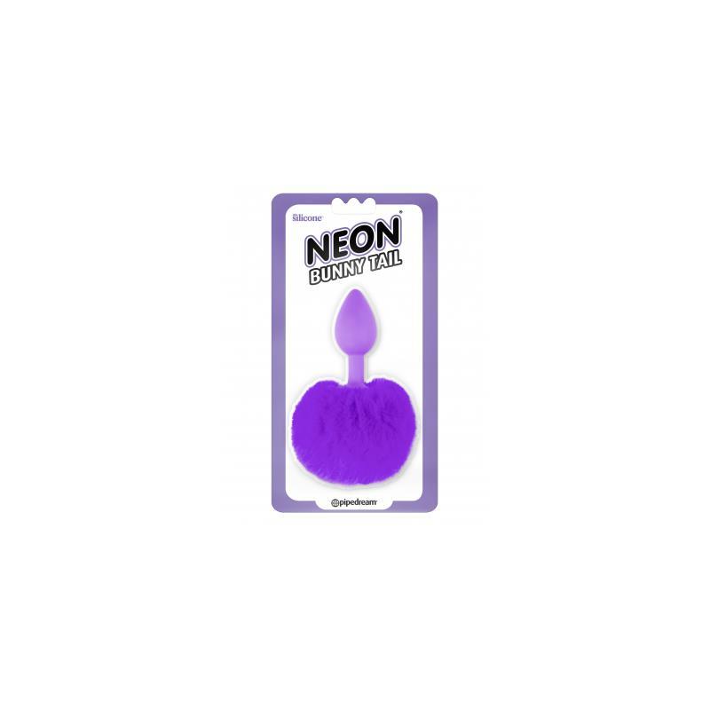 Neon Plug Anal con Cola Púrpura de NEON #satisfactoys
