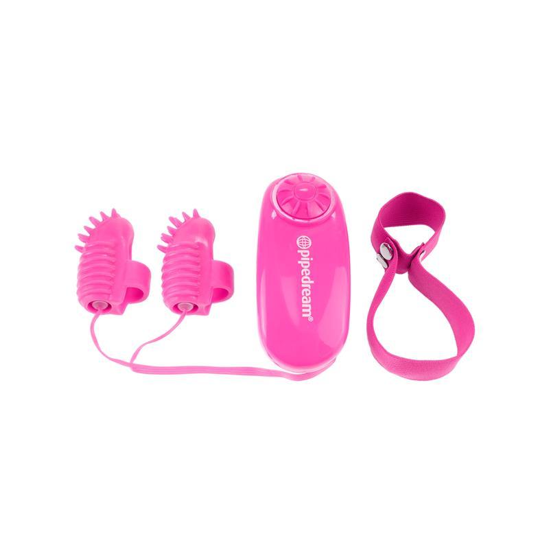 Neon Mini Vibradores para el Dedo Rosa de NEON #satisfactoys