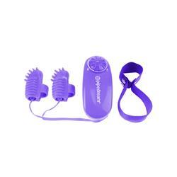 Neon Magic Touch Finger Fun Purple