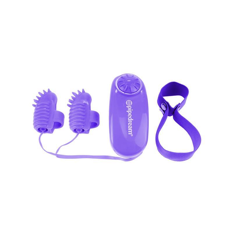 Neon Mini Vibradores para el Dedo Púrpura de NEON #satisfactoys