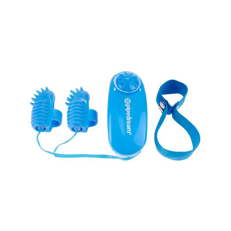 Neon Mini Vibrador para el Dedo Azul de NEON #satisfactoys