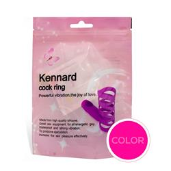 "Anillo vibrador ""kennard"" color rosa"