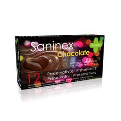 Saninex condoms 12 uds. chocolate