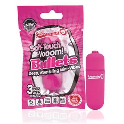 Soft touch vooom bullet  - pink